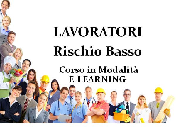 Corso online lavoratore Rischio basso e-Learning Corsi Sicurezza Lavoro