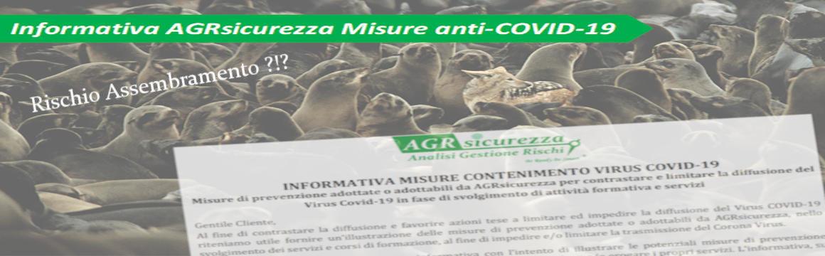 Informativa COVID AGRsicurezza