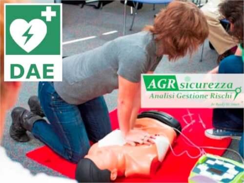 aggiornamento blsd defibrillatore ancona